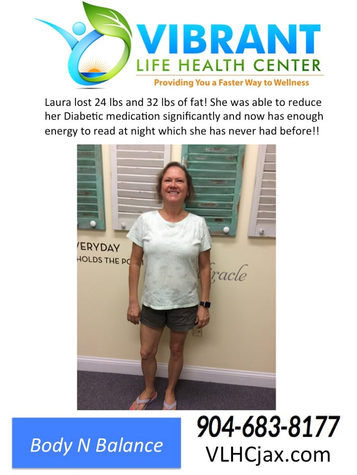 Weight Loss Testimonial at Vibrant Life Health Center